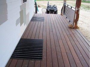 Deck solution for window wells