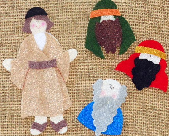 Jesus as a Child Bible Story Flannel/Felt Board by LindyJDesign, $5.00