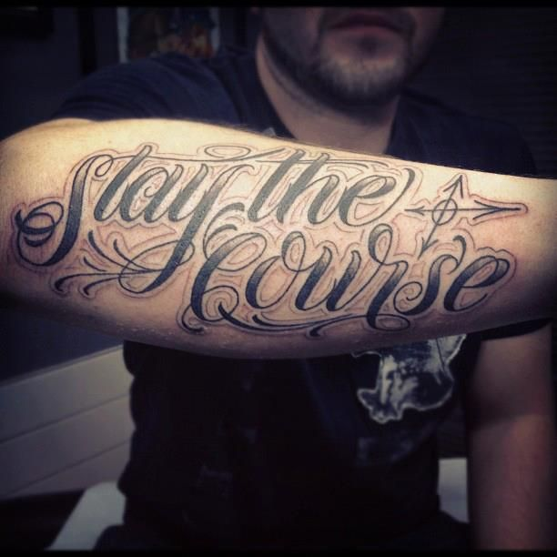 Tattoo Cursive Black Rip Birds Quote For Every: 25+ Best Ideas About Forearm Script Tattoo On Pinterest