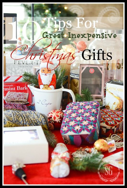 17 best ideas about inexpensive christmas gifts on for Super cheap gift ideas