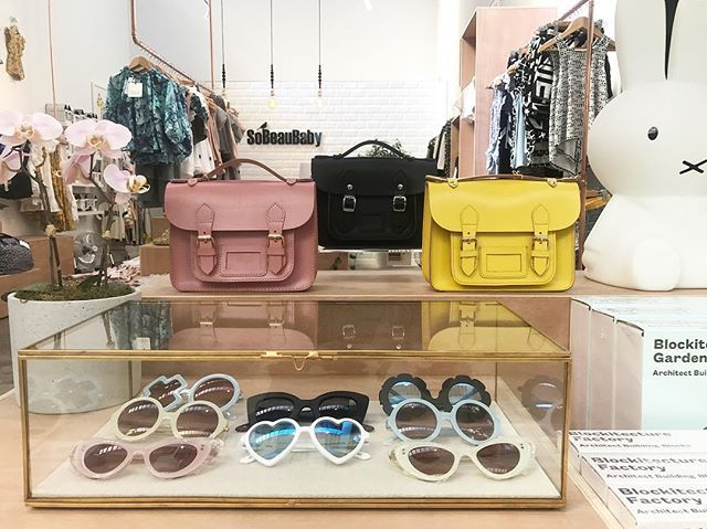 Our Thick as Thieves Leather satchels are the cutest accessory and the perfect size for your little one to carry all their trinkets and very important treasures / lollies!! Shop online or at our Orakei store. Available in Sunny yellow, rose and black.