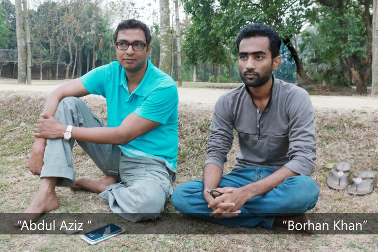 "Chairman of Jaaz Multimedia ""Abdul Aziz"" and Film Director ""Borhan Khan"""