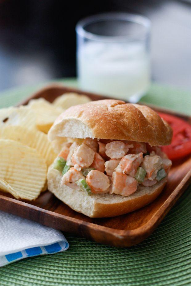 Shrimp Salad Recipe | AggiesKitchen.com #seafood #summer