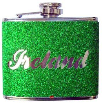 4oz Ireland Hip Flask £14.99