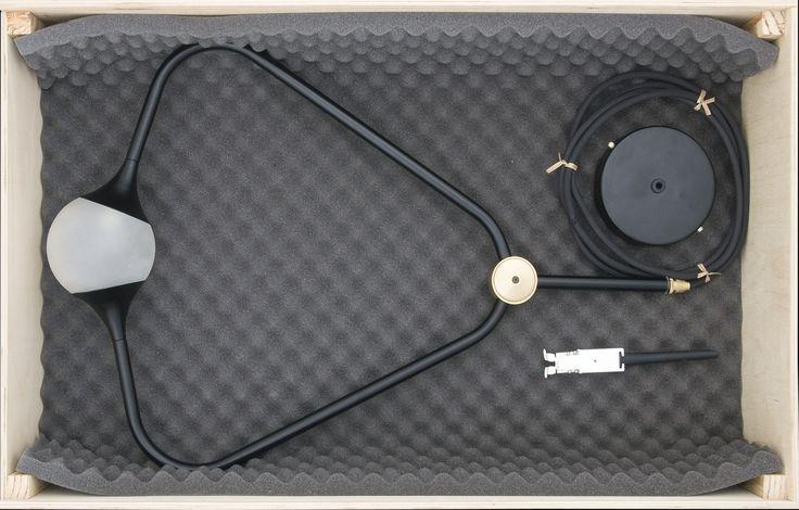 medal black in wood box