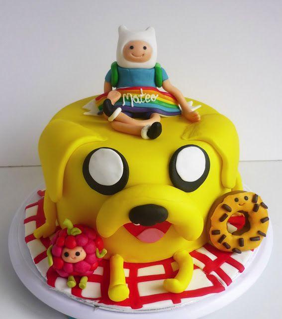Adventure Time Cakes Pinterest