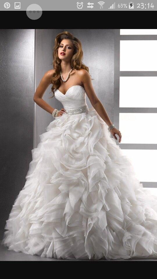 76 best Kleider images on Pinterest | Hochzeitskleider, Brautkleider ...
