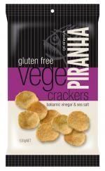 Pirahna Crackers Sea Salt & Balsamic Vinegar 100g