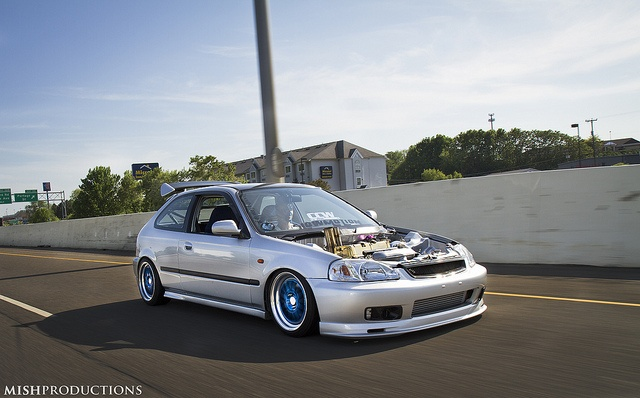 Honda Civic EK - Steven's new setup by Mish Productions, via Flickr