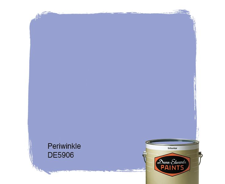 Dunn Edwards Paints Paint Color Periwinkle De5906 Click For A Free Sample Colors Pinterest