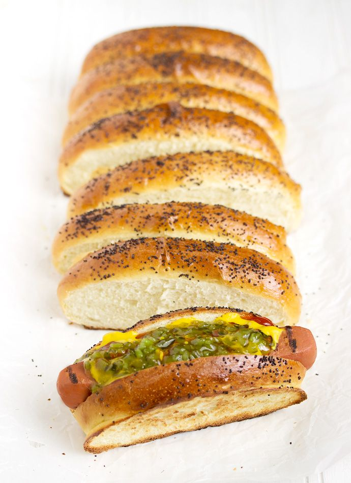 Hot Dog Buns Made In Bread Machine
