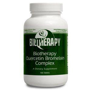Biotherapy Quercetine Bromelain Complex 100 Tablets