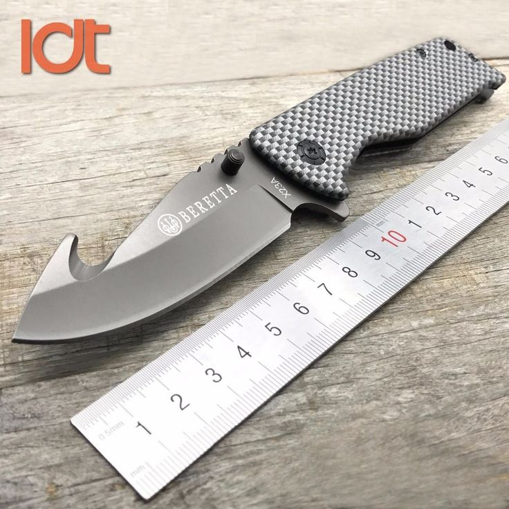 LDT X23A Folding Knife 8Cr13Mov Blade Carbon Fiber Handle Survival Tactical Military Outdoor Knives Pocket Camping Knife EDC.