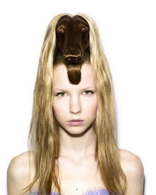 Crazy Blonde Hairstyles