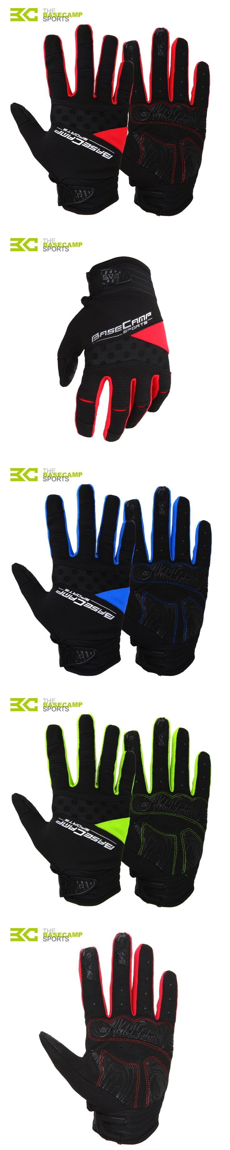 Shockproof Telefingers Full Finger Cycling Gloves Gel Pad Guantes Ciclismo Luvas Inverno MTB Bike Bicycle Gants Velo BC-232