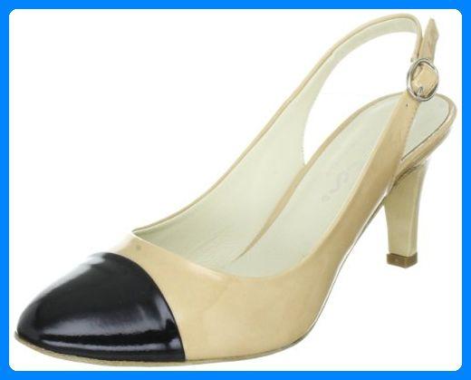 Evita Shoes Sling 09EV342161, Damen Pumps, Beige (beige), EU 41 - Damen pumps (*Partner-Link)