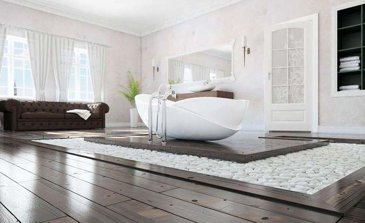 10 inspirerende baderom - inspirasjon til moderne bad