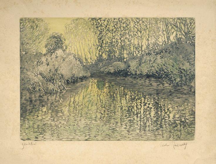Le Prince Lointain: Vaclav Radimsky (1867 - 1946), Zrcadleni - 1910