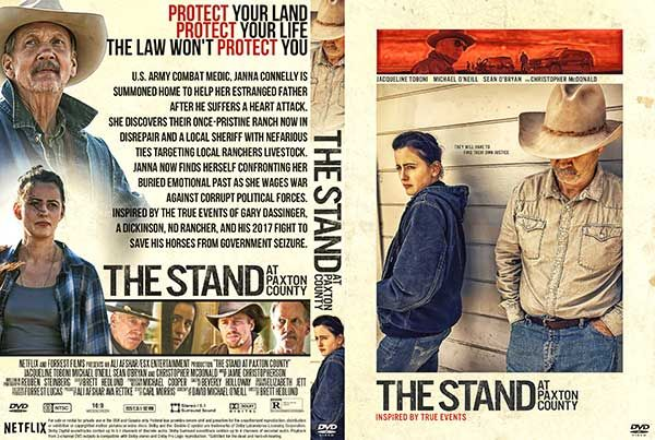 The Stand At Paxton County 2020 Dvd Cover In 2020 Dvd Covers Dvd Movie Blog