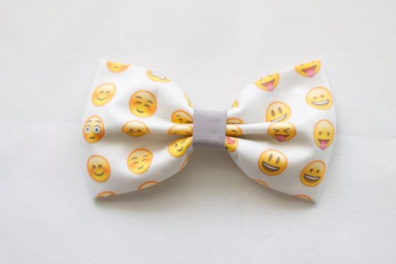 Emoji Hairbow by CottonBOMB on Etsy, $6.00