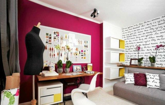 la d coration de chambre ado mission possible criture livre et design. Black Bedroom Furniture Sets. Home Design Ideas