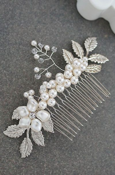 Lovely Clusters - Beautiful Shops: Bridal Hair Comb