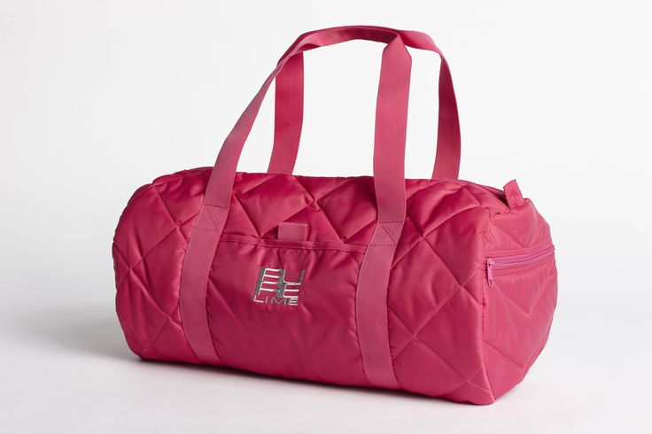 PureLime fitness shoes AW 2015 - gym bag in pink
