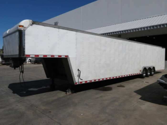 2001 Pace American Ultimate Toy Hauler Enclosed Trailer