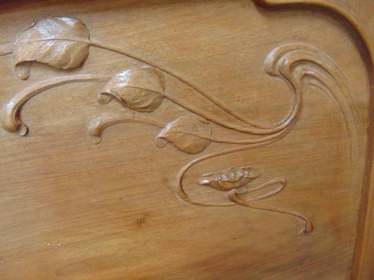 szecessziós antik bútor