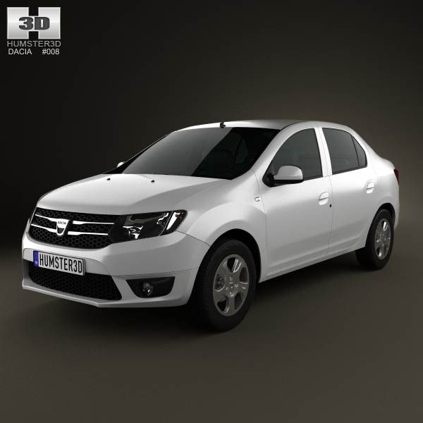 dacia logan sedan 2013 3d model from price 75 http. Black Bedroom Furniture Sets. Home Design Ideas