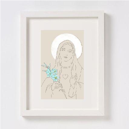 santitos religiosos, encuentra más diseños como este en: http://santitosemeterio.cl/