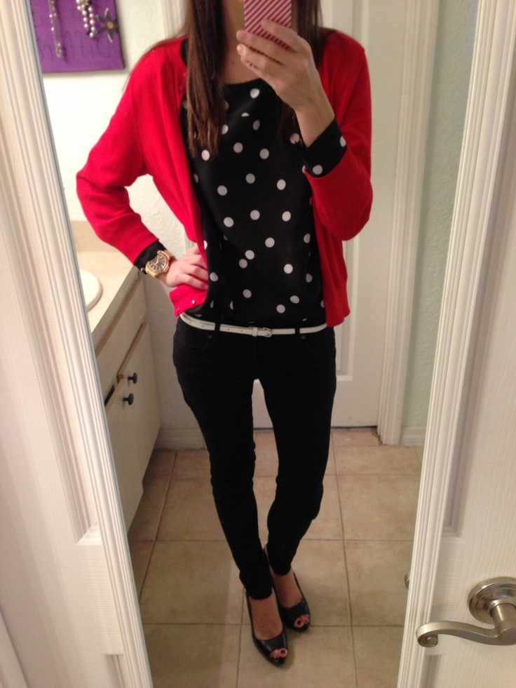 36 best Red cardigan images on Pinterest | Red cardigan, Work ...