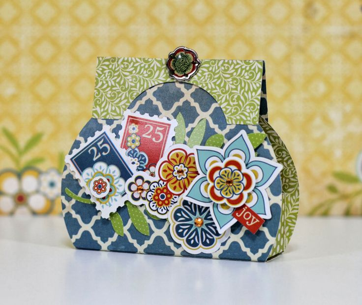how to make purse with paper folding