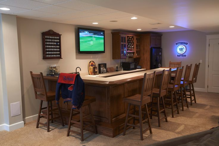 The ultimate basement bar! #mancave | Basement | Pinterest