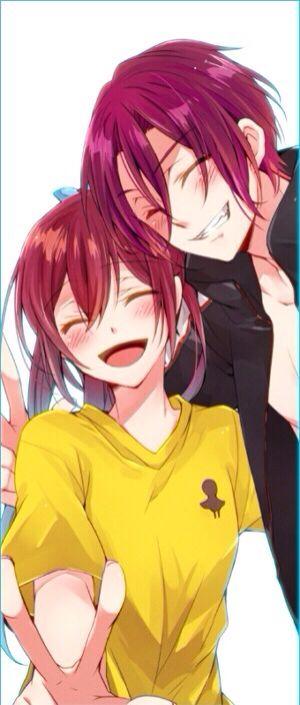Free! ~~ Happy siblings ~~ Rin & Gou