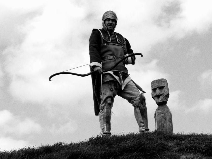 scythian archer on the kurgan
