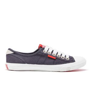 Superdry Women's Low Pro Trainers - Navy: Image 01
