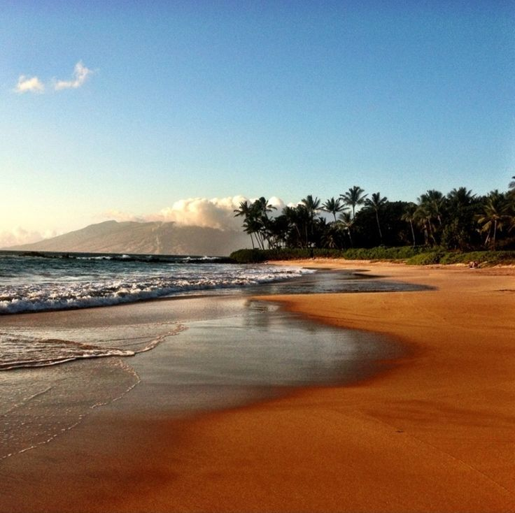 Gorgeous views from Makena Beach in Wailea, Maui...I could sit here all day!