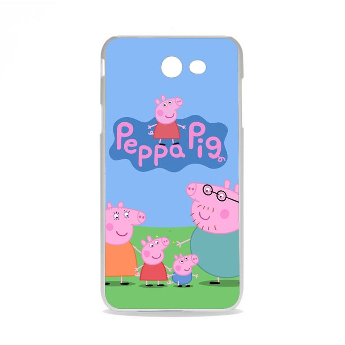 Peppa Pig TV Show Samsung Galaxy J7 2015 Case | Republicase
