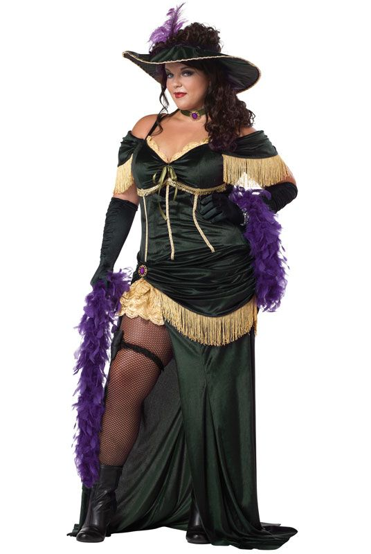 Saloon Madame Plus Size Costume #halloween #costumes