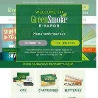 Coupon code by greensmoke.com