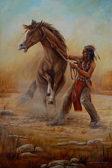 native american paintings images | Native American - Painting - Nature Art by Ken Stroud