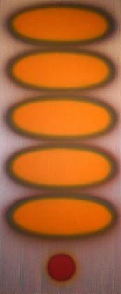 Dan Christensen, Ibid  1993, Acrylic on canvas  @ Baker Sponder Gallery