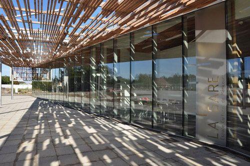 deAlzua+, Atelier 9.81 — Mediateca e auditorium EQA