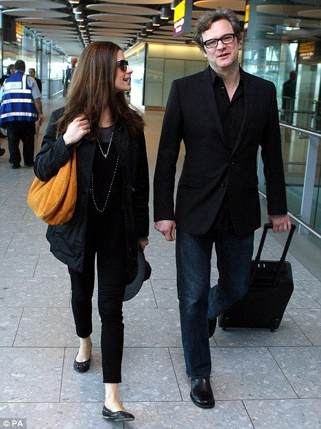 Back to the kids: The couple are no doubt looking forward to seeing their two sons Luca and Matteo