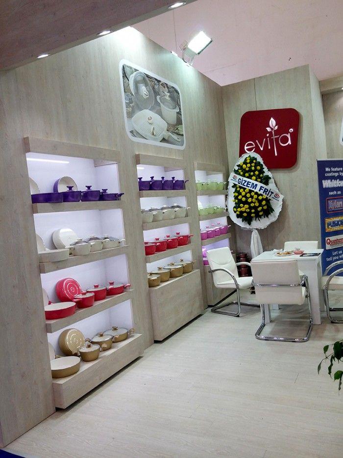 Eslon Mutfak Eşyaları-Zuchex2015 İstanbul Exhibition stand.