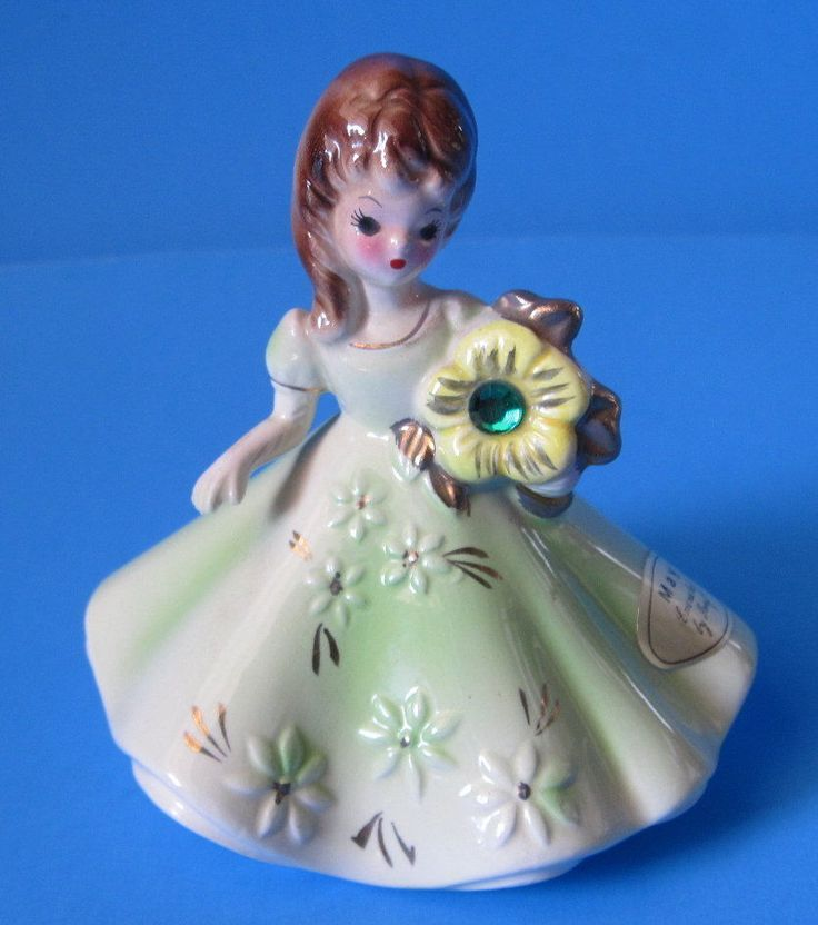 1 Birthstone Birthday Dolls-Josef