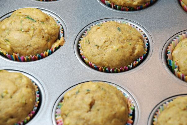 Pumpkin Zucchini Muffins.. {I replaced both sugars with Splenda} = [[ 97 Calories ]]