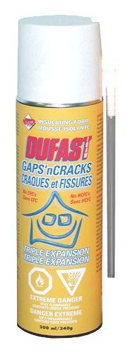 MOUSSE ISOLANTE DUFAST FOAM   Code BMR :026-0301