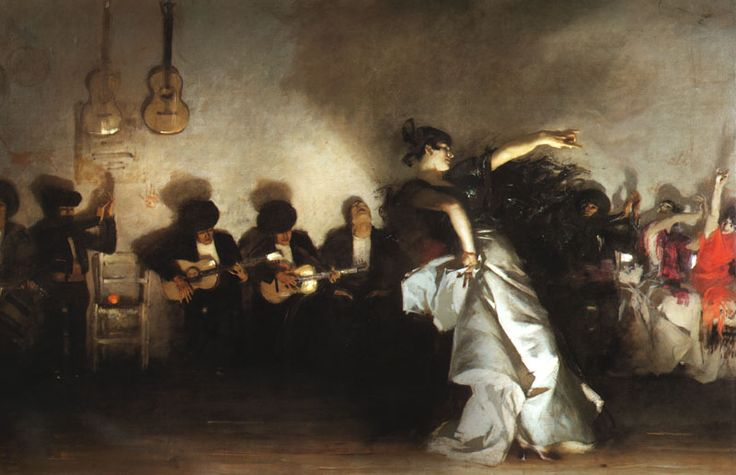 El Jaleo, de John Singer Sargent, 1882. Et une chronique scarlattienne de Nicolas Witkowski